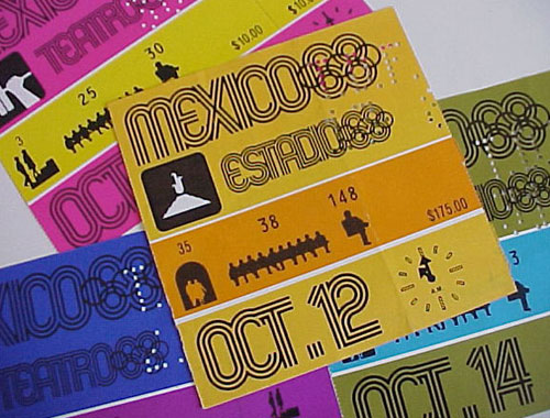 Mexico 68 Tickets