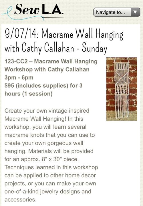 Sew-la-wall-hanging